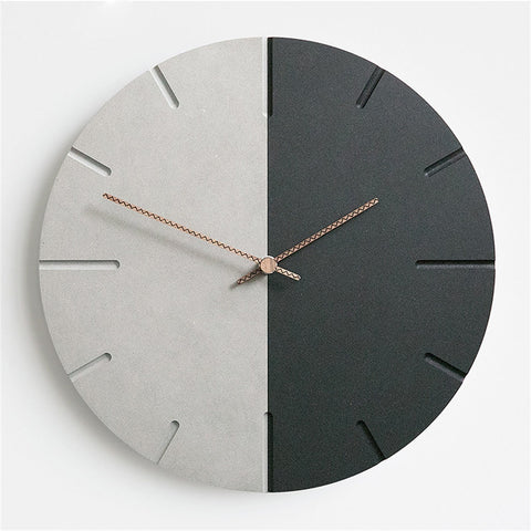 Modern MDF Board Wall Clock
