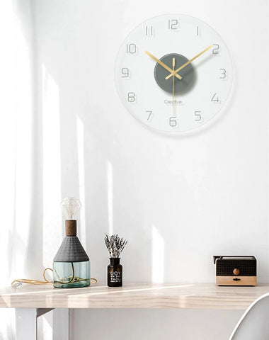 Nordic Art Mute Wall Clock