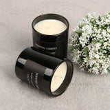 Black Scented Candle