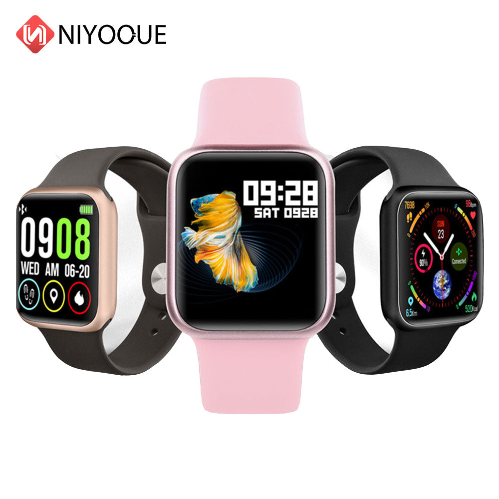 P90 Smart Watch Full Touch Heart Rate Blood Pressure Fitness Tracker IP68 Waterproof Sports Smartwatch Women Men P68 P70 Pro