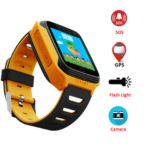 Baby Kids Smart Watch With SOS Call Camera Touch Screen Lighting GPS LBS Smartwatch Baby kids Children Watch VS Q528 Q50 DZ09