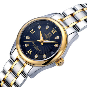 Carnival switzerland sapphire mechanical women watch luxury brand genuine leather waterproof watches women reloj bayan kol saati