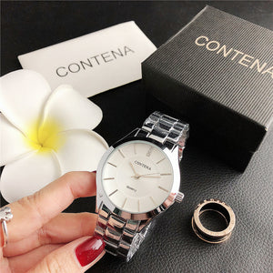 2140TMD    New hot sale foreign trade men and women couple simple business with fashion watch wholesale direct sales