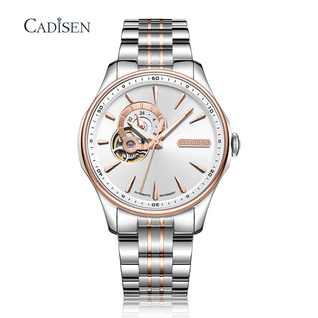 CADISEN 2020 New Men's Menchanical Watches Fashion automatic Mens watches top Brand Luxury  Military Watch Menrelogio masculino