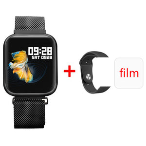 ESEED P80 smart watch men women IP68 waterproof full touch screen smartwatch Heart Rate Monitor for samsuang xiaomi huawei watch