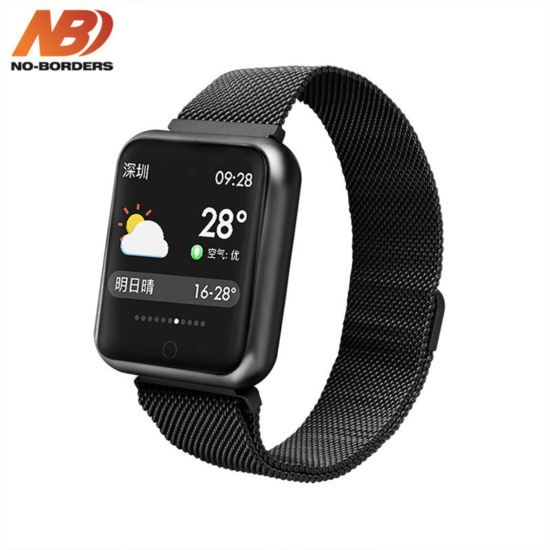 Original P68 Smart Watch Sports IP68 Fitness Bracelet Activity Tracker Heart Rate Monitor Blood Pressure for Android iPhone