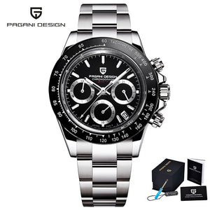 PAGANI DESIGN 2020 New Men's Watches Quartz Business Watch Mens Watches Top Brand Luxury Watch Men Chronograph VK63 Reloj Hombre