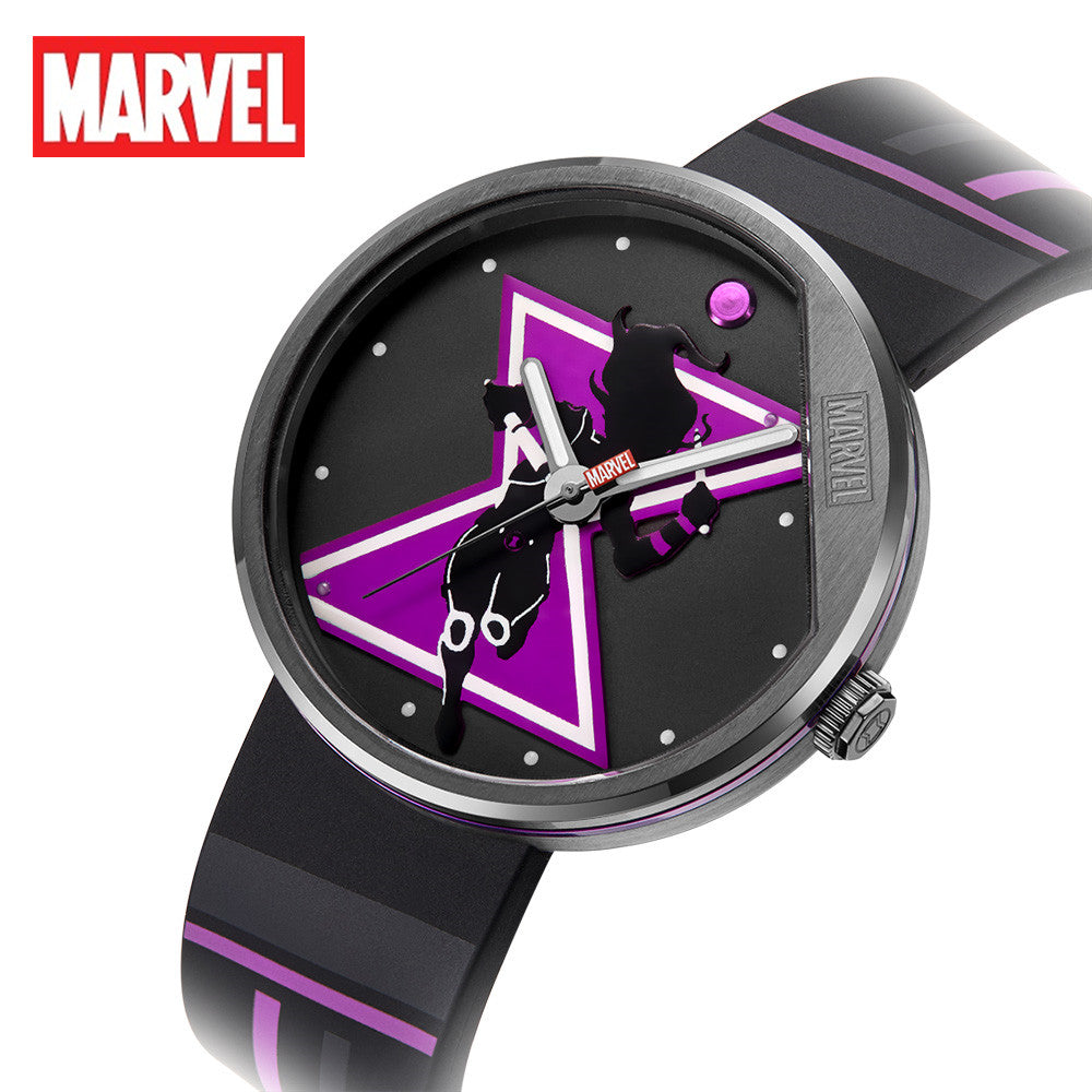 Marvel Original The Avengers Black Widow Cartoon Antique Clock Female Watch Quartz women girl  WristWatch Relogio Masculino 9136