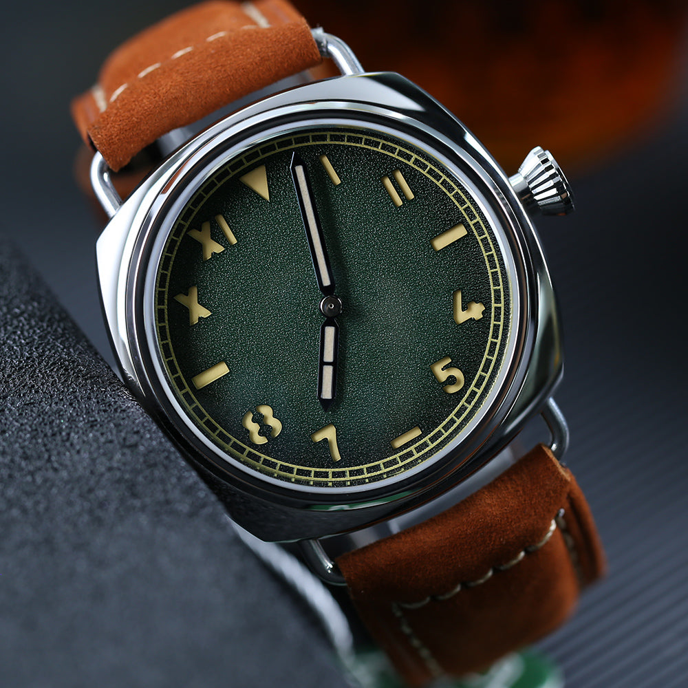 STEELDIVE 1936 Unique Californian Dive Watch 200m Sapphire Crystal Automatic Watches Men Self Wind 42mm Polish Steel Watch Man