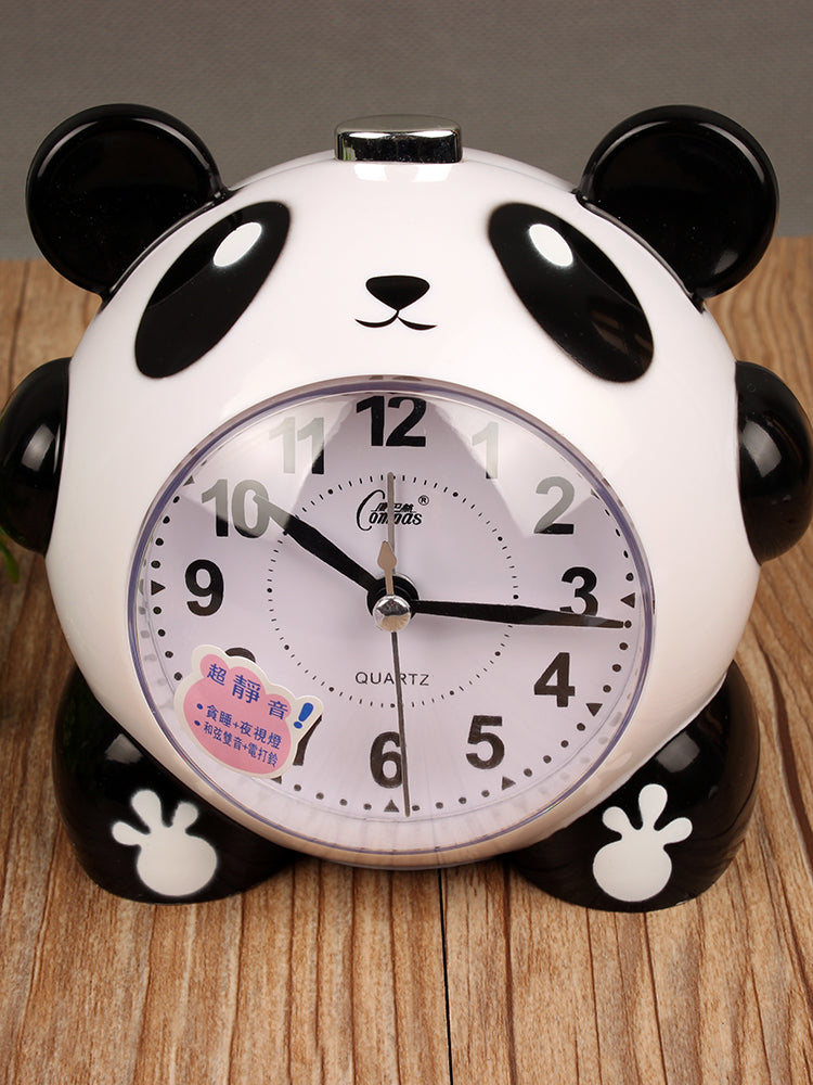 Student Children's Multi-function Silent Creative Cartoon Personality Headboard Alarm Clock