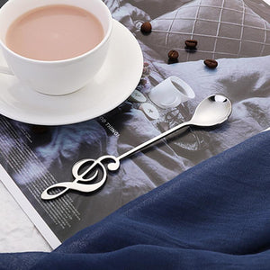 Musical Note Spoon Coffee Tea Spoon
