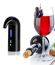 Load image into Gallery viewer, Black Color Electric Wine Aerator and Decanter.