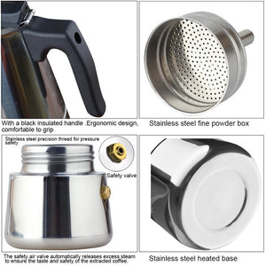 Coffee Brewer Kettle Pot