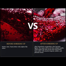 Load image into Gallery viewer, built-in aerator to reduce the astringency of the wine in a second.