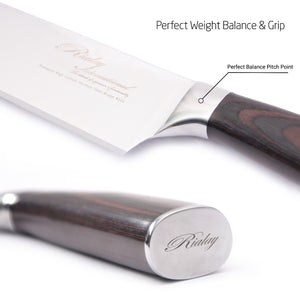 Perfectly Balanced Pro Chef's Knife