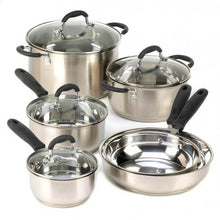 Load image into Gallery viewer, Stainless Steel Cookware Set