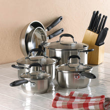 Load image into Gallery viewer, 10 Pcs Kitchen Cookware Set