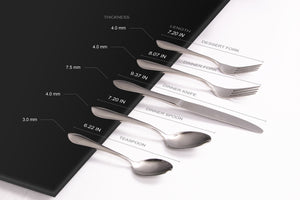 Flatware Dimension