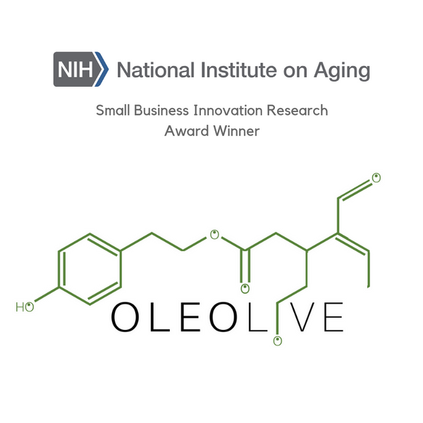 Oleolive awarded NIH funding to study oleocanthal and alzheimers