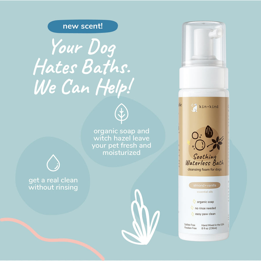 Calming Lavender Waterless Bath for Dogs & Cats