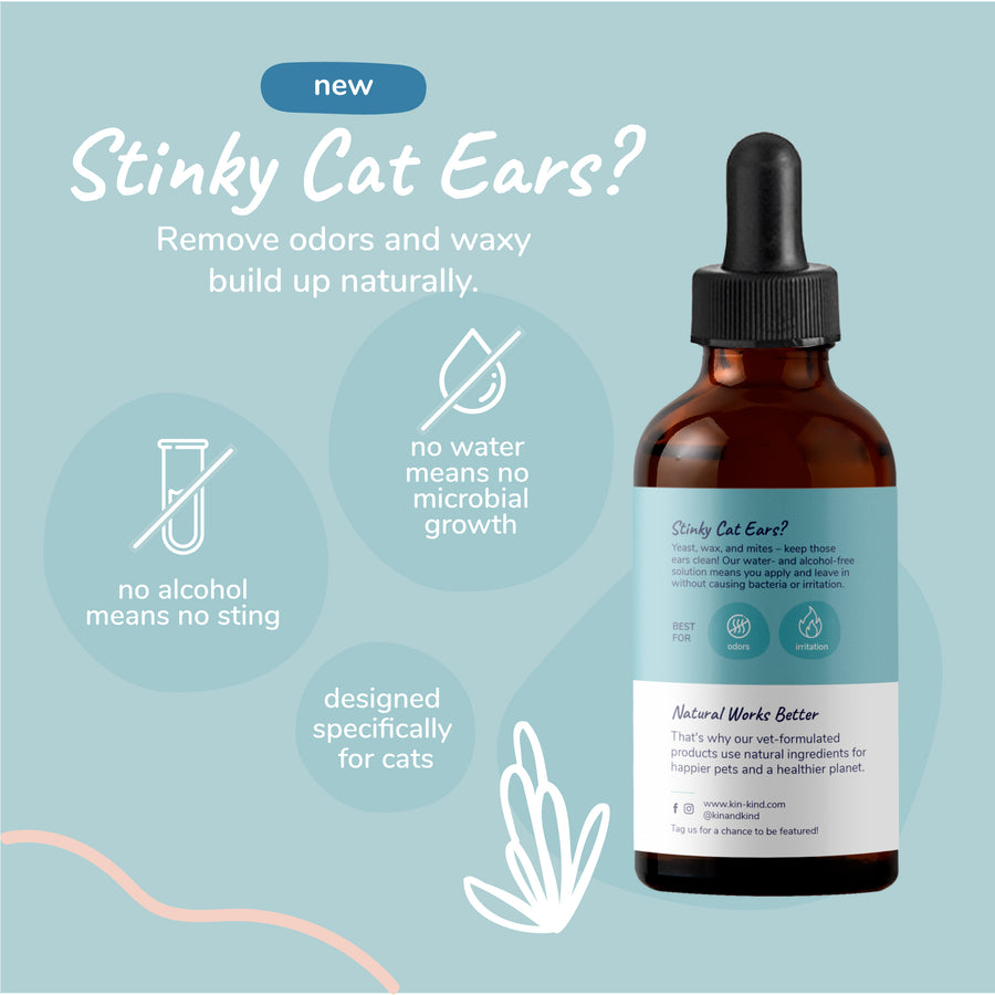 Kitty Ears (Leave-In Cat Ear Cleaner)