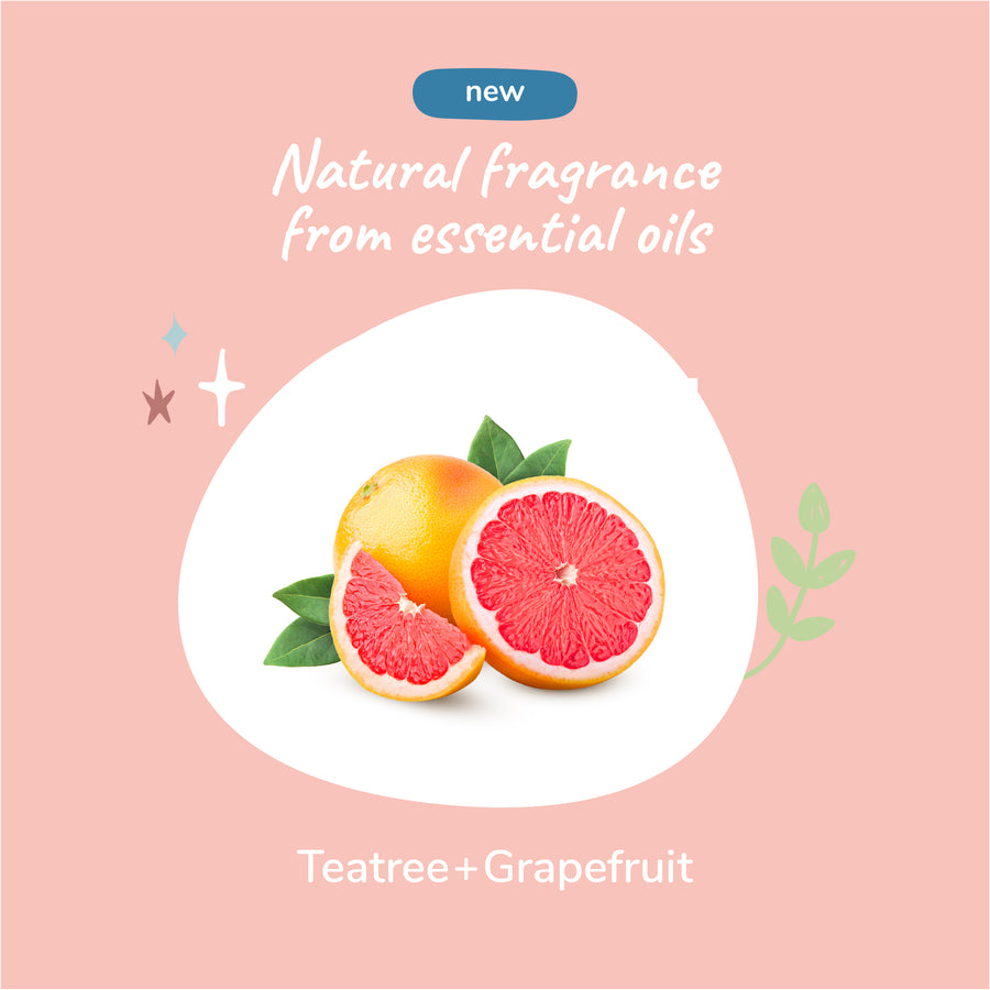 Energizing Grapefruit Waterless Bath for Dogs