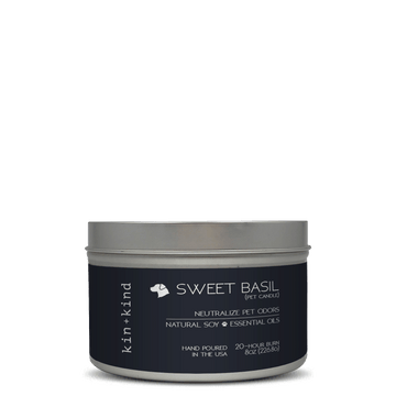 SWEET BASIL (Pet Odor Neutralizing Candle)