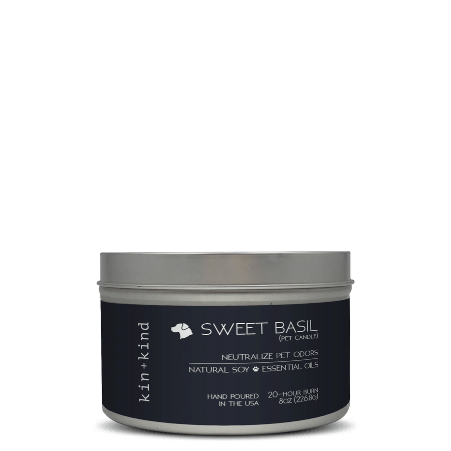 Sweet Basil (Pet Odor Candles)