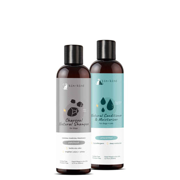 Shampoo + Conditioner Set for Dogs and Cats