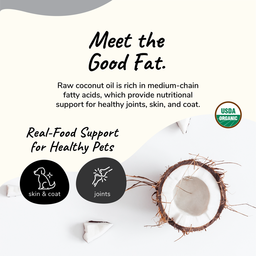Organic Raw Cold-Pressed Coconut Oil