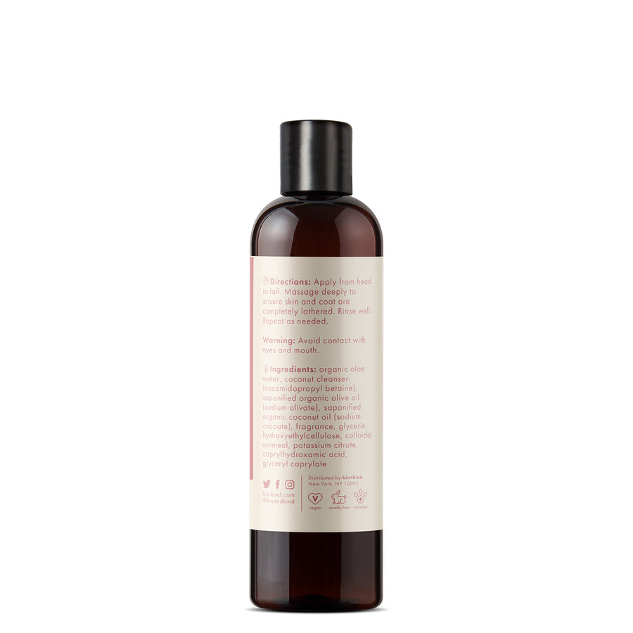 KIN ORGANICS Calming Rose (Oatmeal Itchy Dog Shampoo)