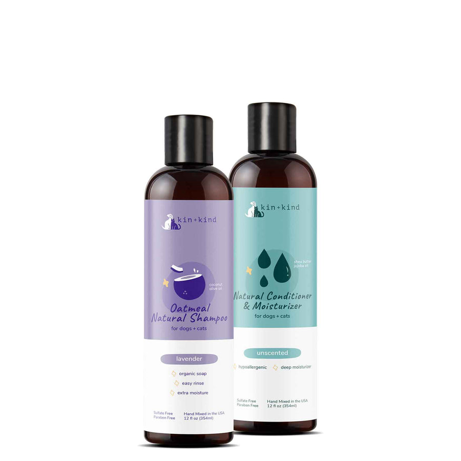 Shampoo + Conditioner Set for Itchy Dogs and Cats