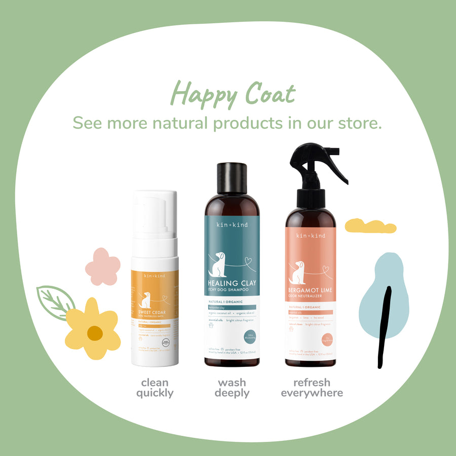 SWEET CEDAR (Waterless Foaming Shampoo for Dogs)