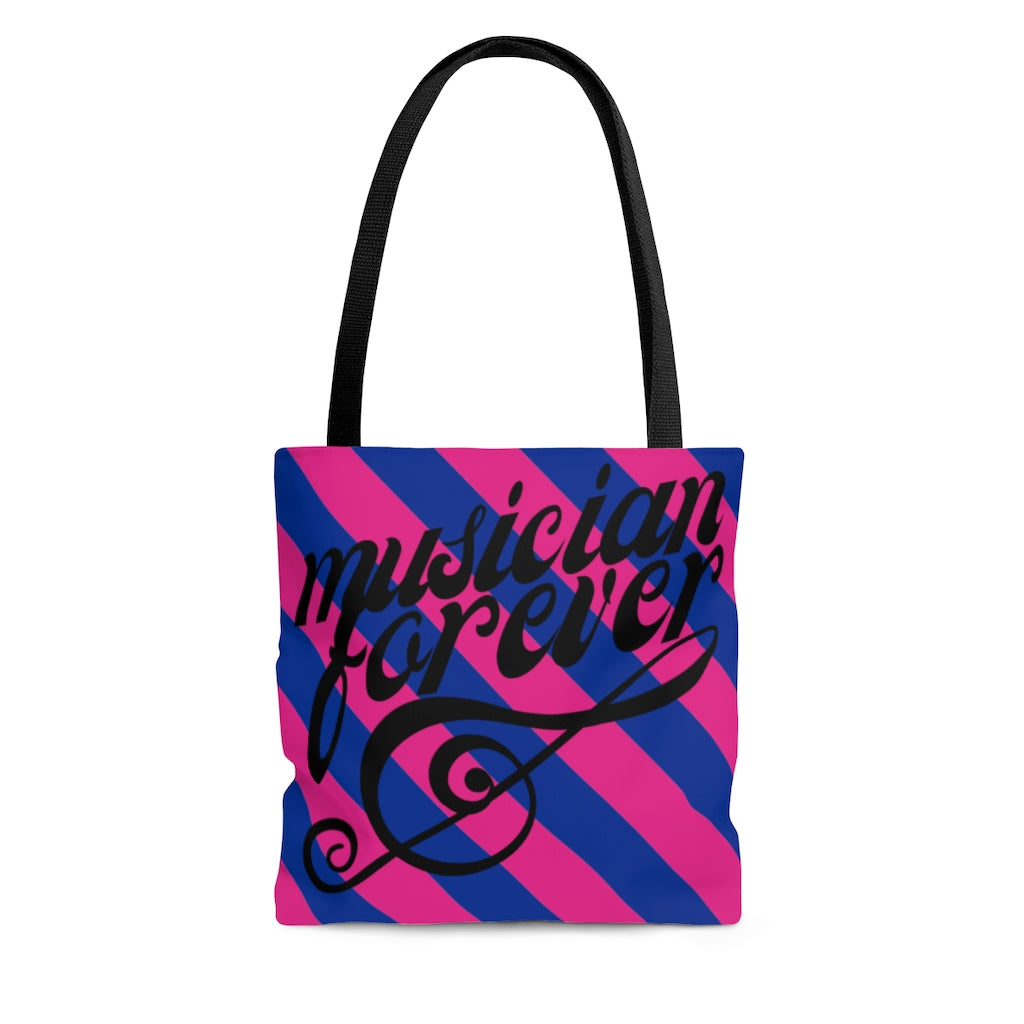 Jazzercise, MTV, 1980s Inspired, Musician Forever Tote Bag, Gift for Musician