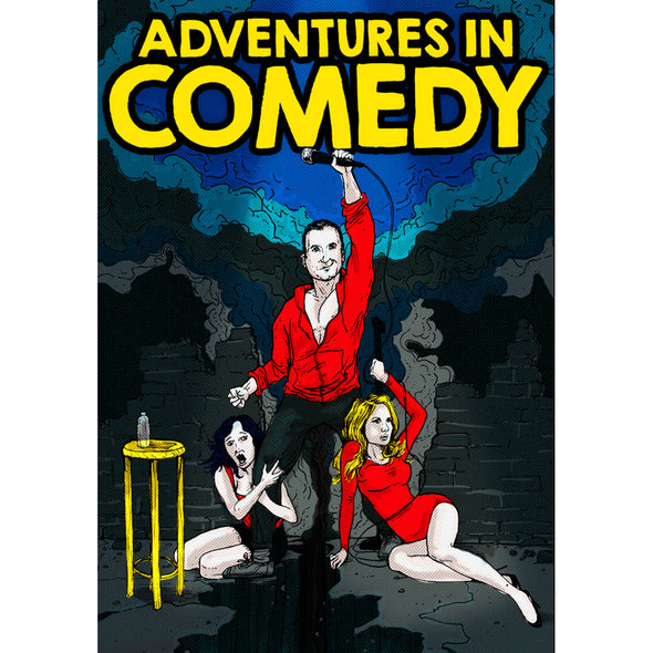 Tom McCaffrey Adventures in Comedy DVD