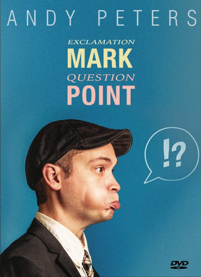 Andy Peters: Exclamation Mark Question Point DVD