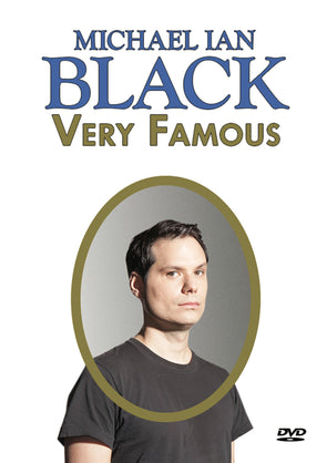 Michael Ian Black: Very Famous DVD
