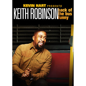 Kevin Hart Presents: Keith Robinson Back of The Bus Funny DVD