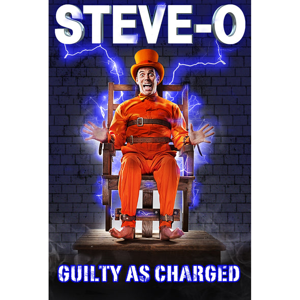 Steve-O Guilty As Charged DVD