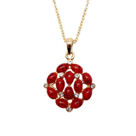 Hibiscus Collier - Rouge