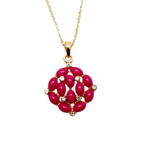 Hibiscus Collier - Rose