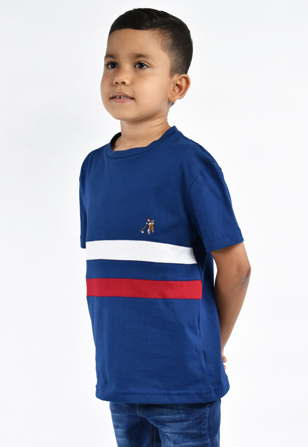 Camiseta smith estado azul para niño