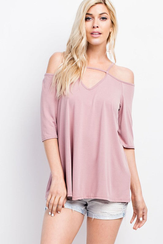Tie Back Trapeze Top