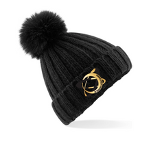 Load image into Gallery viewer, CLRG Faux Fur Pom Pom Hat