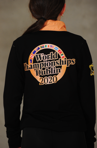 CLRG Worlds 50th Anniversary Half Zip Top
