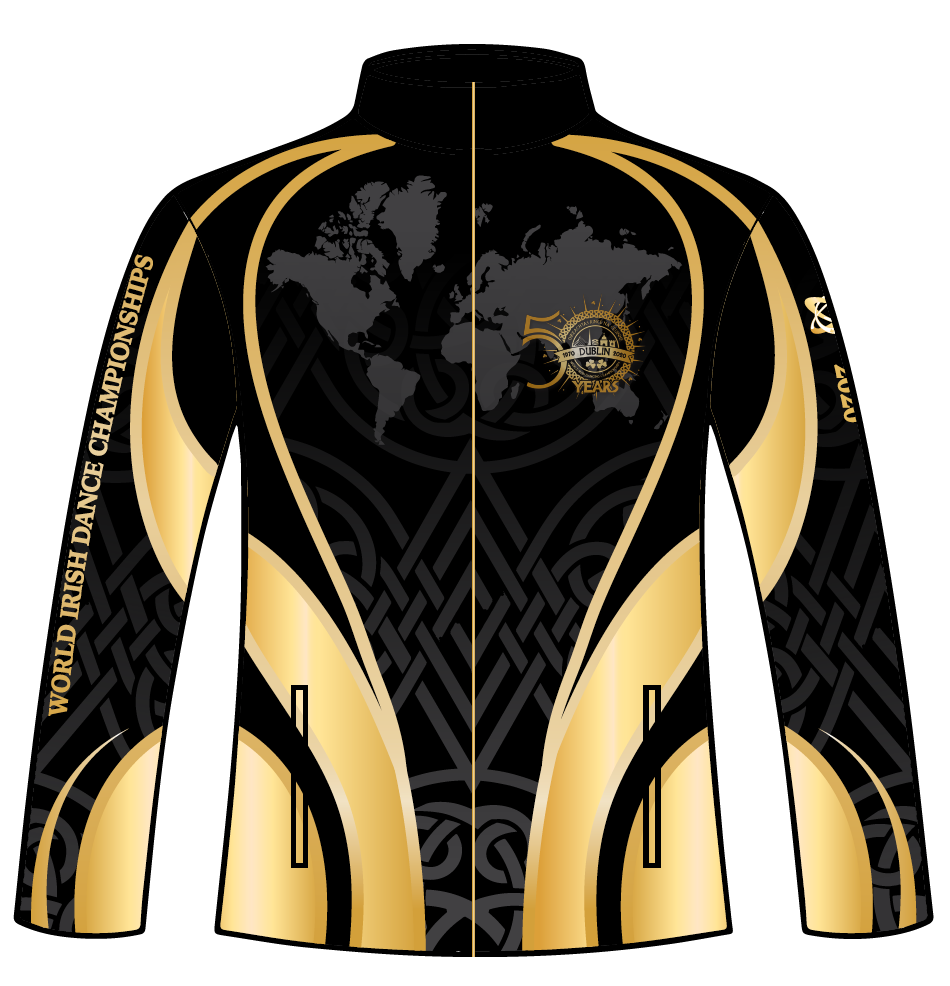CLRG Worlds 50th Anniversary Full Zip Jacket