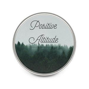 """Positive Altitude"" Metal Pin"