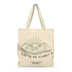"""There is no planet B"" tote bag"
