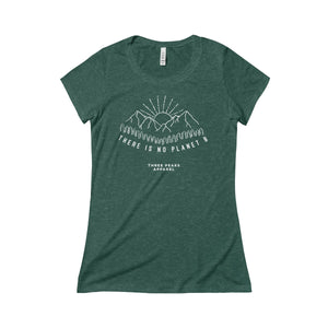 "Women's ""There is no Planet B"" T-Shirt"