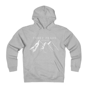 "Limited Edition ""Three Peaks Logo"" Heavyweight Fleece Hoodie"
